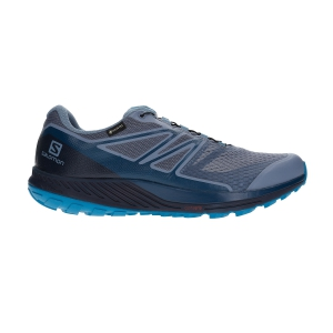 Scarpe Trail Running Uomo Salomon Sense Escape 2 GTX  Flint Stone/Navy Blazer/Fjord Blue L40792300
