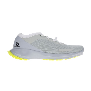 Men's Trail Running Shoes Salomon Sense Feel  Mineral Gray/Pearl Blue/Safety Yellow L40965500