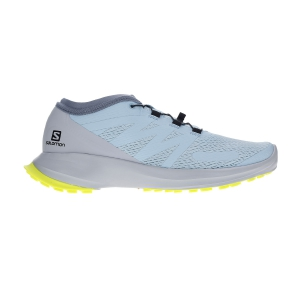 Scarpe Trail Running Donna Salomon Sense Flow  Angel Falls/Pearl Blue/Safety Yellow L40966900