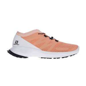 Scarpe Trail Running Donna Salomon Sense Flow  Cantaloupe/White/Bellini L40967000