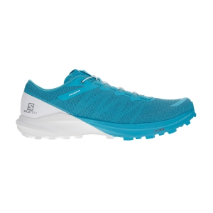 Scarpe Trail Running Donna Salomon Sense Pro 4  Bluebird/White/Icy Morn L40975400