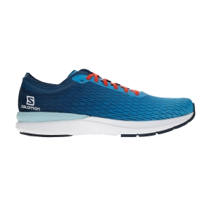Scarpe Running Performance Uomo Salomon Sonic 3 Accelerate  Hawaiian Ocean/White/Poseidon L40970100