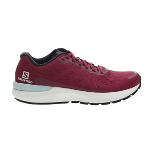 Women's Neutral Running Shoes Salomon Sonic 3 Balance  Beet Red/White/Kentucky Blue L41127600