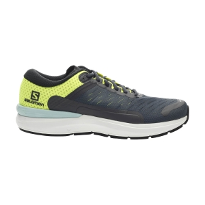 Men's Neutral Running Shoes Salomon Sonic 3 Confidence  Ebony/White/Saftey Yellow L41127400