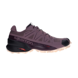 Scarpe Trail Running Donna Salomon Speedcross 5 GTX  Flint/Black/Bellini L40957400