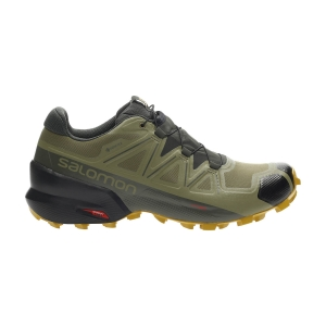 Men's Trail Running Shoes Salomon Speedcross 5 GTX  Martini Olive/Peat/Arrowwood L41117400