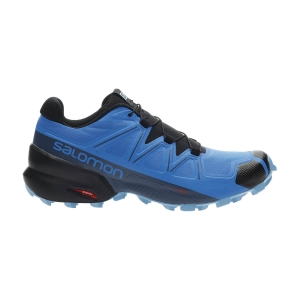 Men's Trail Running Shoes Salomon Speedcross 5  Indigo Bunting/Black/Ethereal Blue L41116500