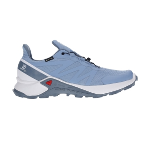 Scarpe Trail Running Donna Salomon Supercross GTX  Forever Blue/White/Flint Stone L40954400