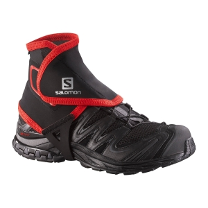 Accesorios Outdoor Salomon Trail High Polainas  Black/Red L38002100