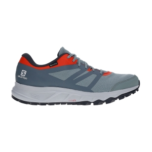 Men's Trail Running Shoes Salomon Trailster 2 GTX  Lead/Stormy Weather/Cherry Tomato L40963400