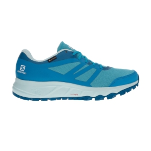 Scarpe Trail Running Donna Salomon Trailster 2 GTX  Bluebird/Icy Morn/Lyons Blue L40963900
