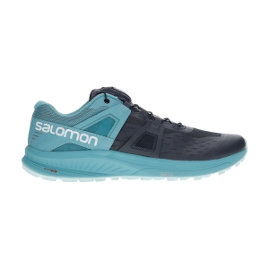 Women's Trail Running Shoes Salomon Ultra Pro  Ebony/Meadowbrook/Icy Morn L41040800