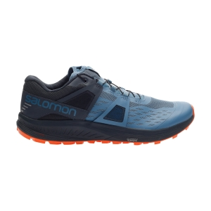 Men's Trail Running Shoes Salomon Ultra Pro  Copen Blue/India Ink/Red Orange L41233400