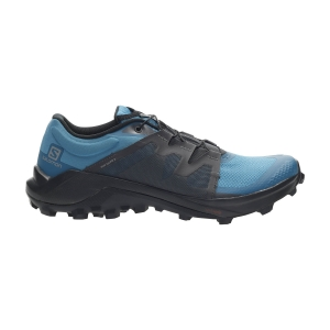 Men's Trail Running Shoes Salomon Wildcross  Fjord Blue/Ebony/Lyons Blue L41105600