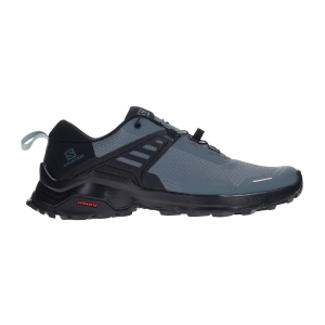 Women's Trail Running Shoes Salomon X Raise  Stormy Weather/Black Lead L41041500