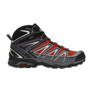 Scarpe Outdoor Uomo Salomon X Ultra 3 Mid GTX  Burnt Brick/Black/Bleached Sand L40990500