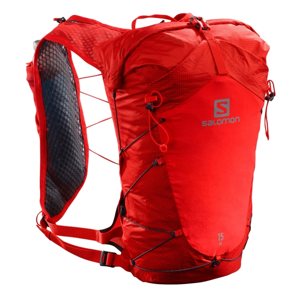 Salomon XA 15 Set Backpack - Goji Berry/Ebony