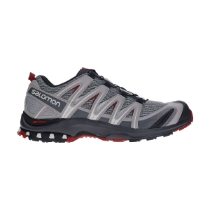 Salomon XA Pro 3D - Monument/Ebony/Red Dahlia