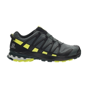 Men's Trail Running Shoes Salomon XA Pro 3D V8 GTX  Urban Chic/Black/Lime Punch L41118000