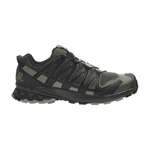 Men's Trail Running Shoes Salomon XA Pro 3D V8  Grape Leaf/Peat/Shadow L40987500