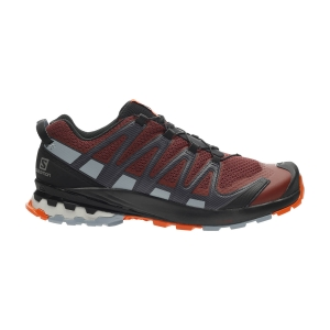 Men's Trail Running Shoes Salomon XA Pro 3D V8  Madder Brown/Ebony/Quarry L41117600
