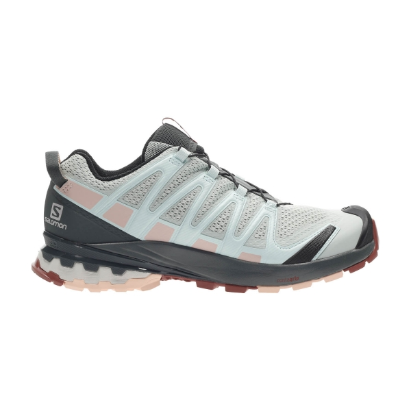 Salomon XA Pro 3D V8 - Aqua Gray/Urban Chic/Tropical Peach