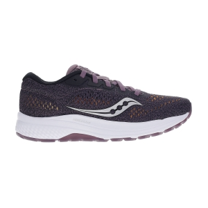 Women's Neutral Running Shoes Saucony Clarion 2  Plum/Black 1055301