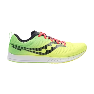 Men's Race Running Shoes Saucony Fastwitch 9  Citron 2905302