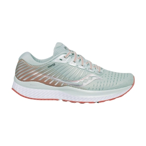 Woman's Structured Running Shoes Saucony Guide 13  Sky Grey/Coral 1054845