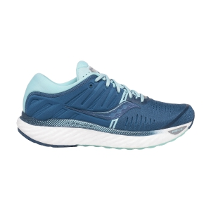 Woman's Structured Running Shoes Saucony Hurricane 22  Blue/Aqua 1054425