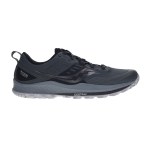 Scarpe Trail Running Uomo Saucony Peregrine 10 GTX INVISIBLE FIT  Grey/Black 2054201