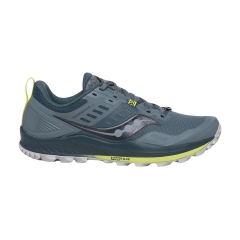 Saucony Xodus ISO 3 Men's Trail Shoes GreenCitron