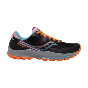 Women's Trail Running Shoes Saucony Peregrine 11  Future Black 1064125