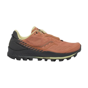 Women's Trail Running Shoes Saucony Peregrine 11 ST  Rust/Charcoal 1064435