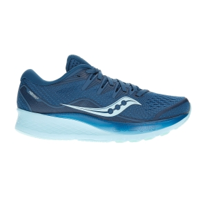Men's Neutral Running Shoes Saucony Ride ISO 2  Blue/Aqua 1051425