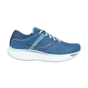 Women's Neutral Running Shoes Saucony Triumph 17  Blue/Aqua 1054625
