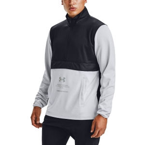 Under Armour Storm 1/2 Zip Sweatshirt - Black/Reflective
