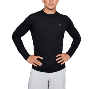 Men's Running Shirt Under Armour Rush Shirt  Black 13480520001