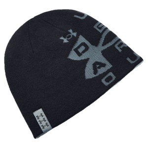 Beanies Under Armour Billboard Reversible Beanie  Black/Steel Medium Heather/Pitch Gray 13567090001