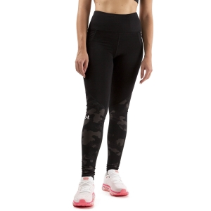 Under Armour ColdGear Camo Tights - Black/White