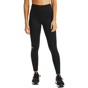 Women's Running Tight Under Armour ColdGear Tights  Black/Metallic Silver 13605620001