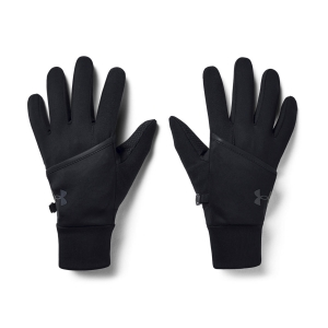 Running gloves Under Armour Convertible Run Gloves  Black/Reflective 13566990001