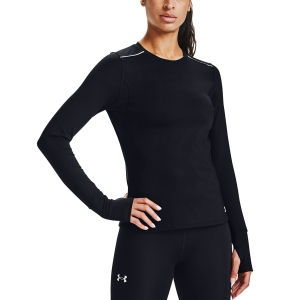 Under Armour Empowered Crew Maglia - Black/Reflective