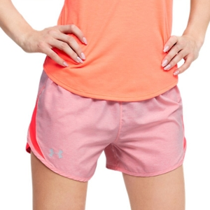 Under Armour Fly By 2.0 3in Shorts - Red
