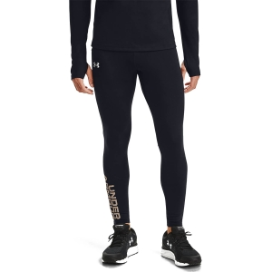 Under Armour Fly Fast ColdGear Tights - Black/Reflective