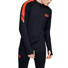 Under Armour Gametime ColdGear 1/2 Zip Shirt - Black
