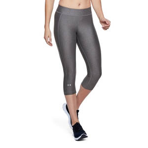 Under Armour HeatGear Armour Capri - Gray
