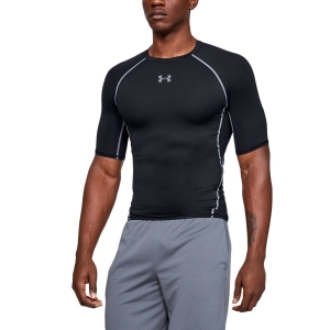 Men's T-Shirts and Tank Sport Underwear Under Armour HeatGear Armour Compression TShirt  Black 1257468001