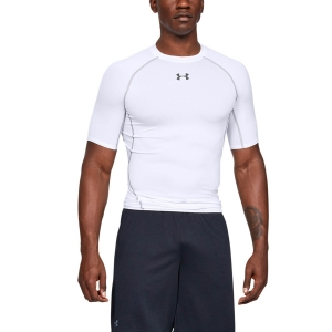 Men's T-Shirts and Tank Sport Underwear Under Armour HeatGear Armour Compression TShirt  White 1257468100