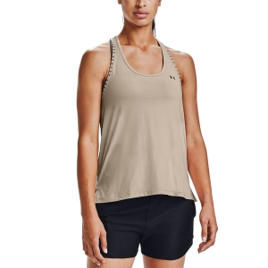 Canotta Fitness e Training Donna Under Armour Knockout Canotta  Desert Rose/Black 13515960679